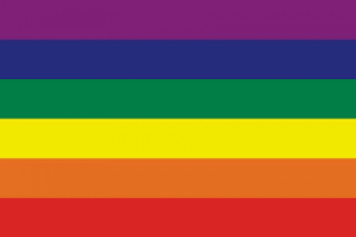 """Ruiz de la Prada: """"Mi bandera favorita tendría que ser el arcoíris que se ha convertido en la del orgullo gay, al que se la cedo bastante felizmente"""". Foto:Reproducción. Imagen Por:"""