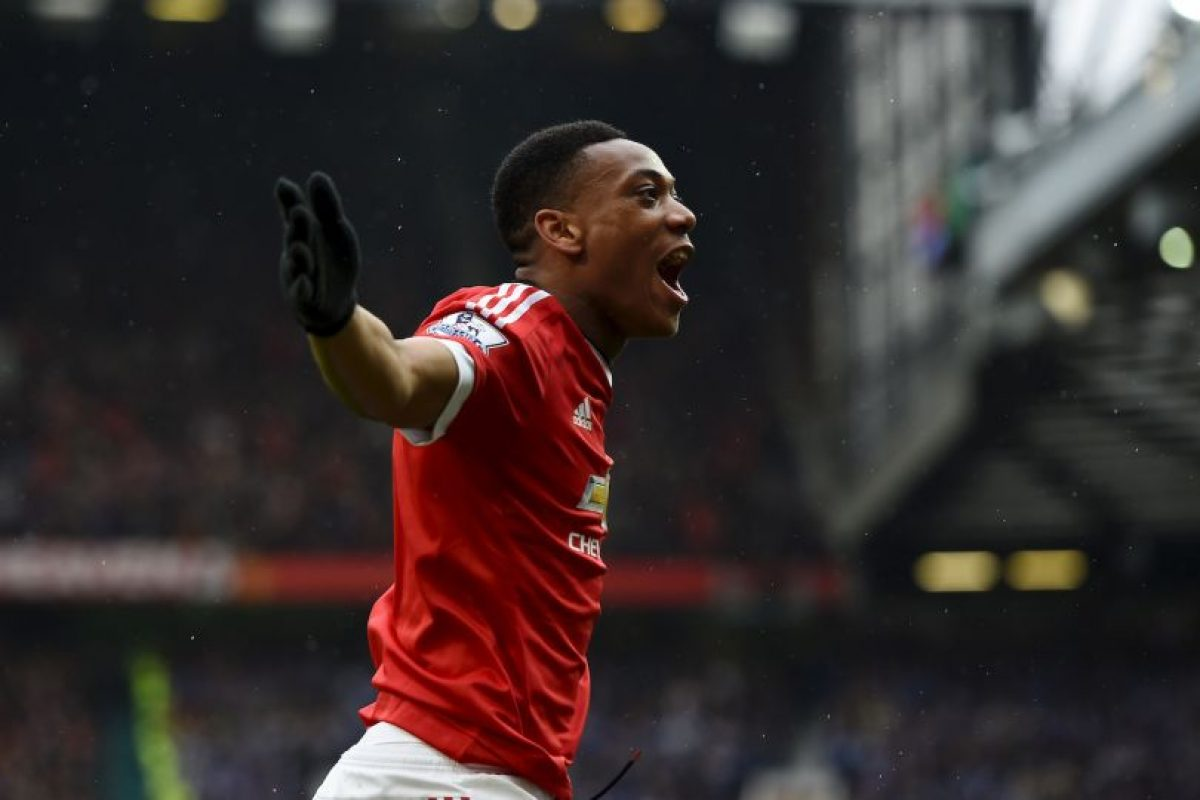 7.-Anthony Martial – 20 años (Manchester United) Foto: Getty Images. Imagen Por:
