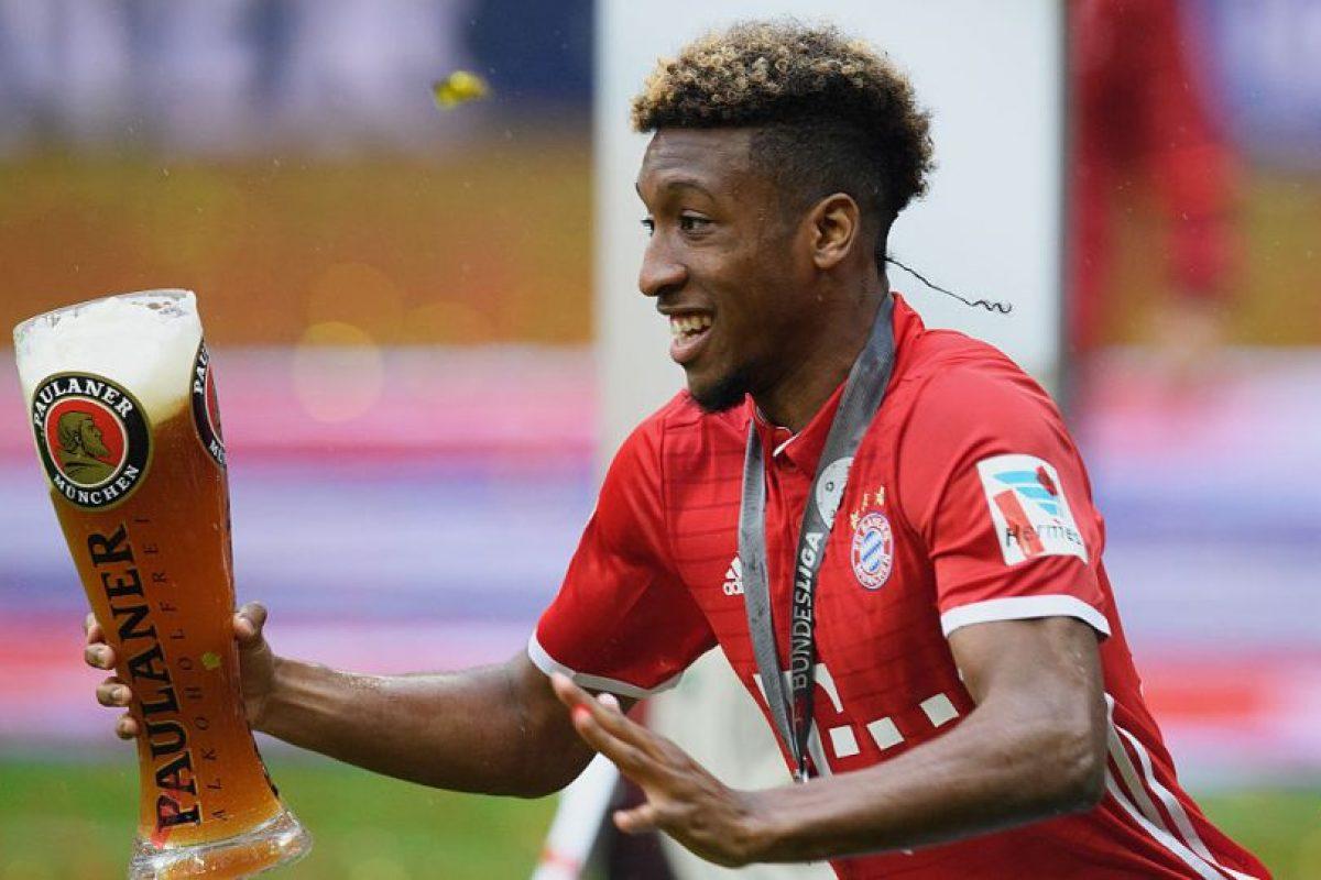 2.-Kingsley Coman – 20 años (Bayern Munich) Foto:Getty Images. Imagen Por: