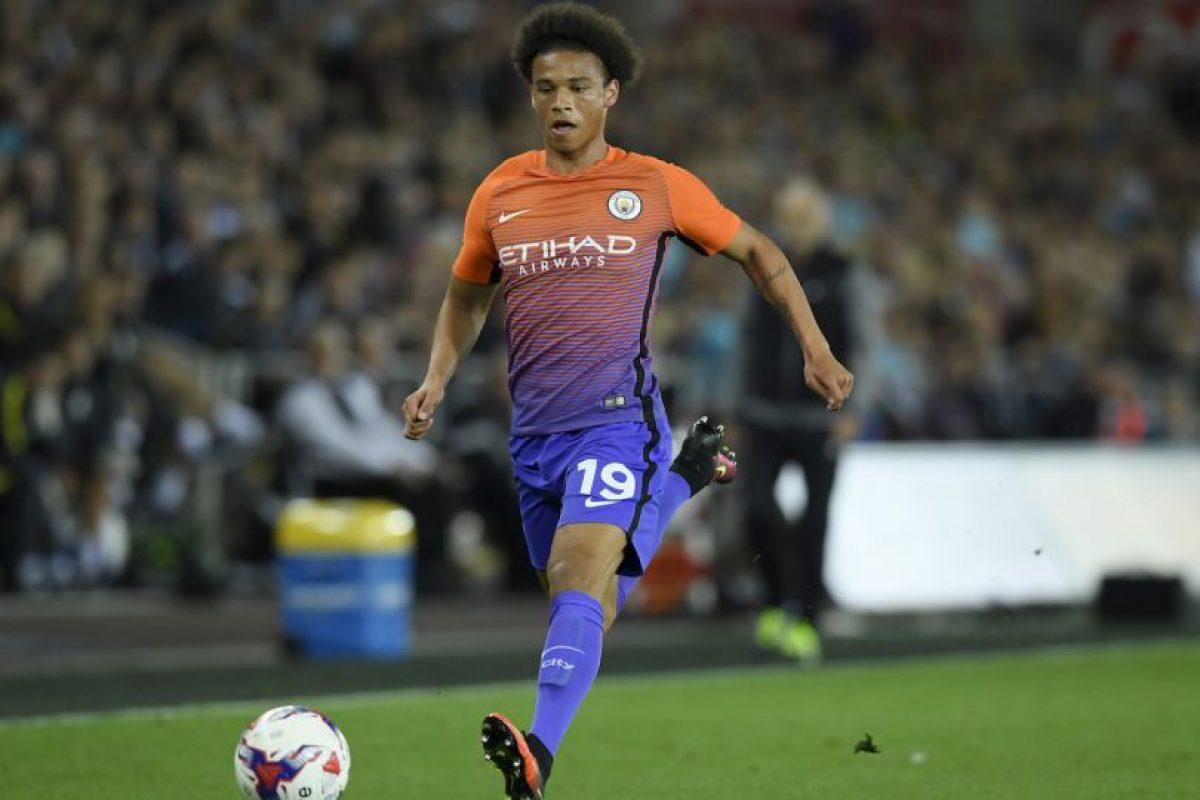 9.-Leroy Sané – 19 años (Manchester City) Foto:Getty Images. Imagen Por: