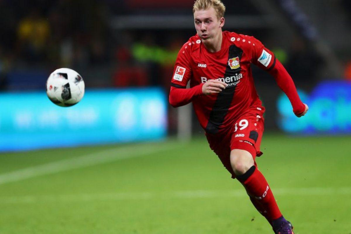 13.-Julian Brandt – 20 años (Bayer Leverkusen) Foto:Getty Images. Imagen Por: