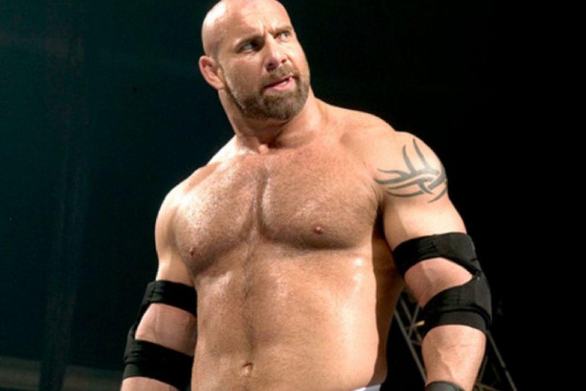 Brock Lesnar reta a Goldberg Foto:WWE. Imagen Por: