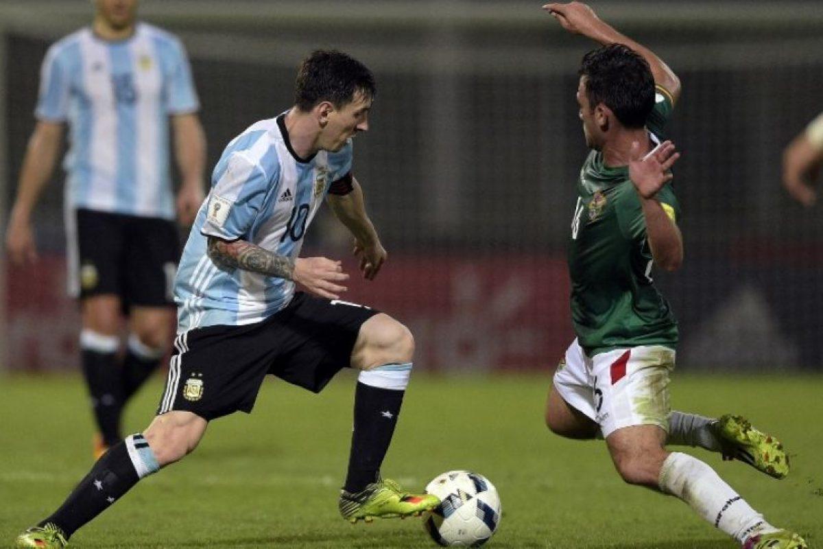 Además jugó ante Bolivia y marcó un tanto en la victoria por 2 a 0. Foto:AFP. Imagen Por: