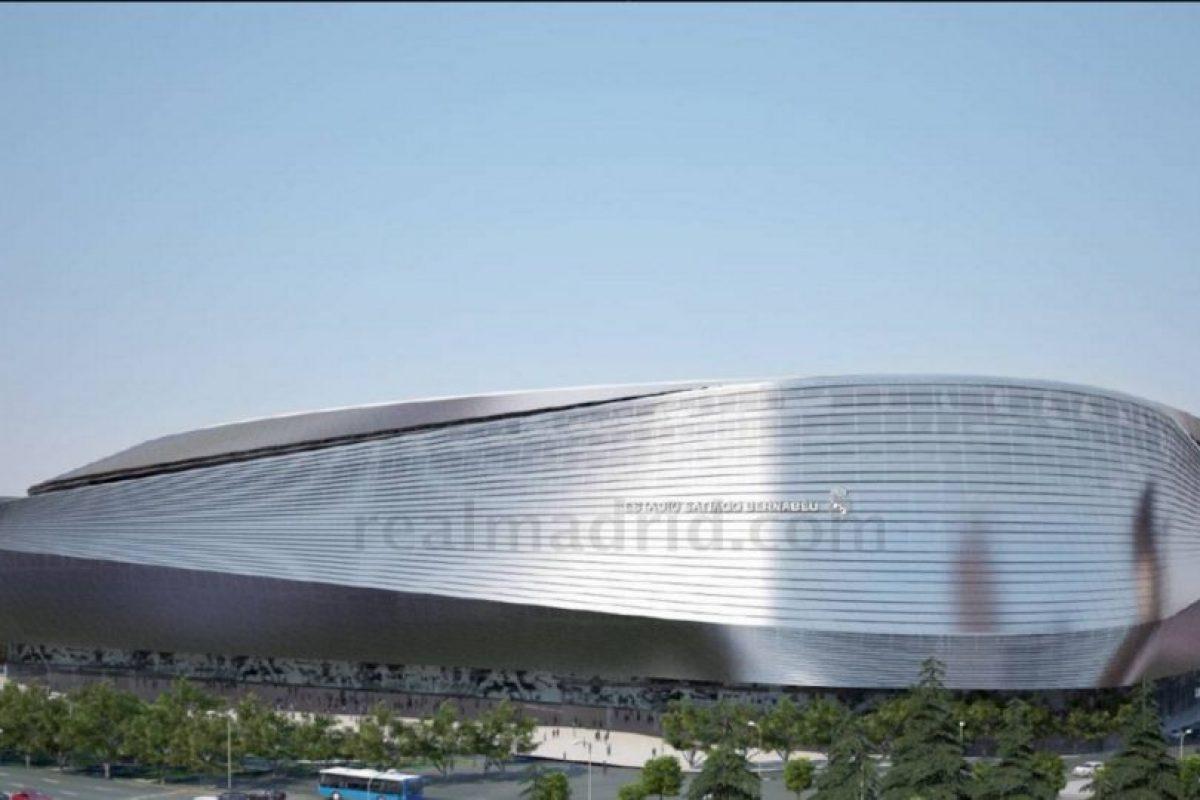 """Con la remodelación, el estadio podría ceder el """"segundo apellido"""" a la gran empresa inversora. Foto:Sitio web Real Madrid. Imagen Por:"""