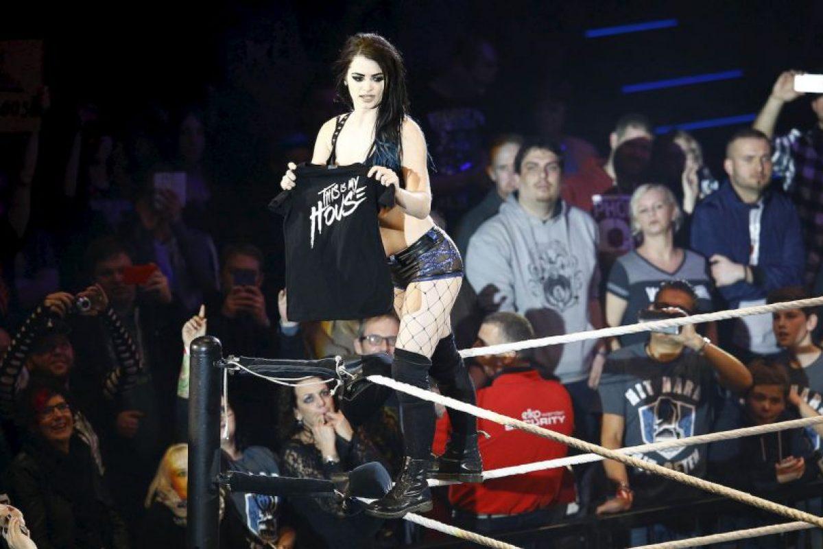 Paige es castigada por WWE por segunda ocasión Foto:Getty Images. Imagen Por:
