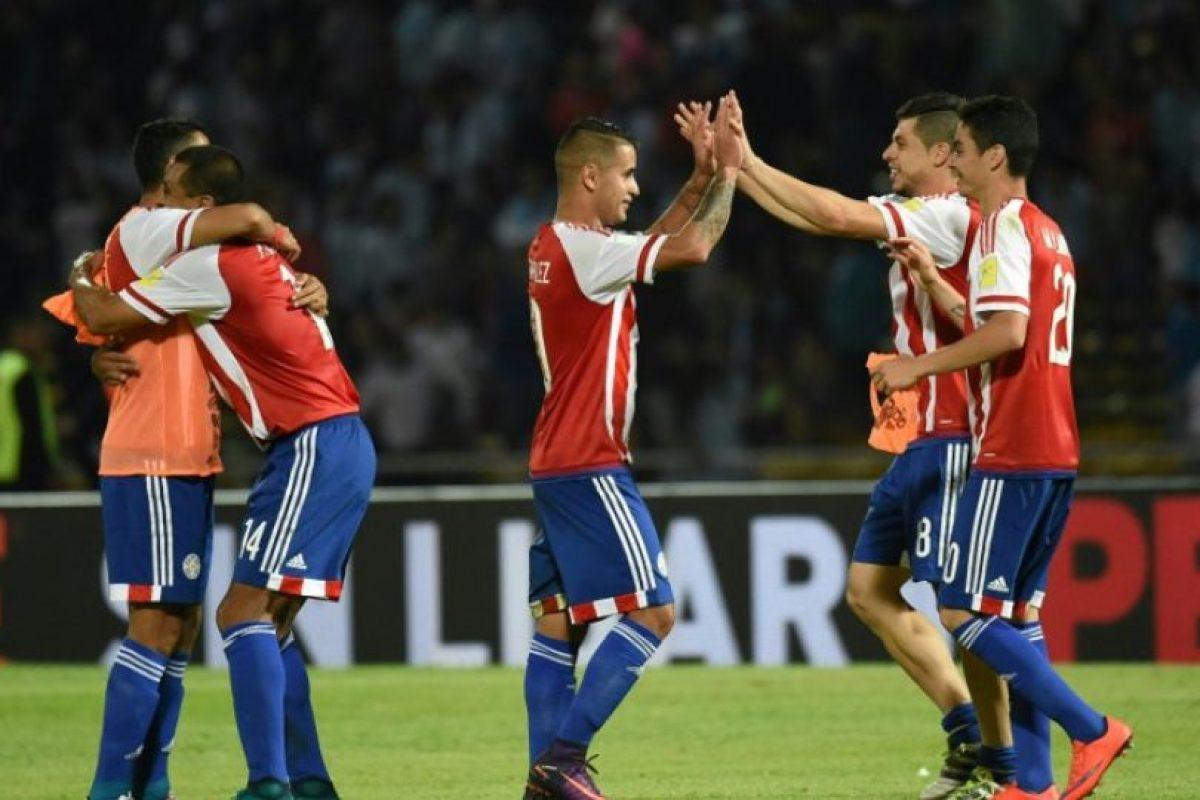 5.Paraguay (29 puntos) Foto:AFP. Imagen Por: