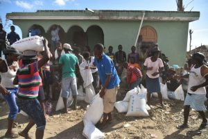 El gobierno de Haití también se está enfrentando a un posible brote de cólera Foto:AFP. Imagen Por: