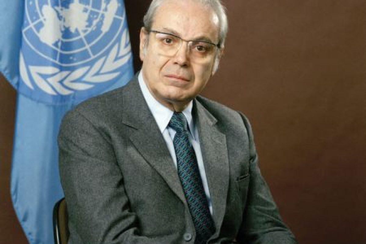 Javiér Pérez de Cuéllar: de 1982 a 1991 Foto:ONU. Imagen Por: