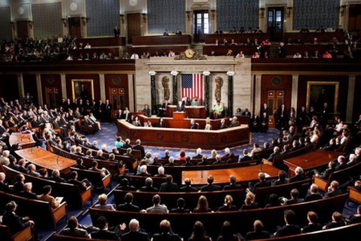 El salón del Senado estadounidense Foto:AFP. Imagen Por: