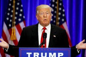 """Jessica Leeds y Rachel Crooks acuaron al candidato presidencial de manosearlas, y agredirlas sexualmente. En una nota oficial, el comité de campaña de Trump dijo que las denuncias eran una pieza de """"ficción"""". Foto:Efe. Imagen Por:"""