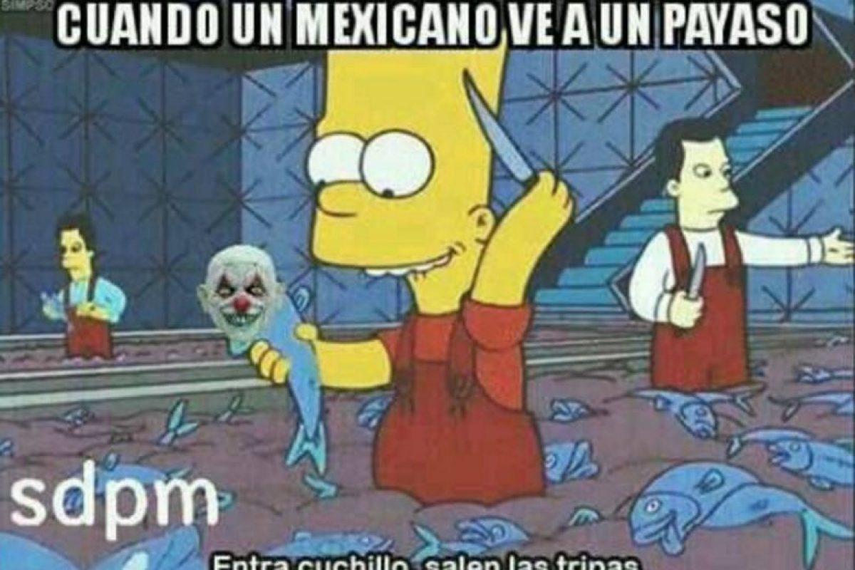 Memes de payasos asesinos se apoderaron de las redes sociales. Foto:Facebook. Imagen Por: