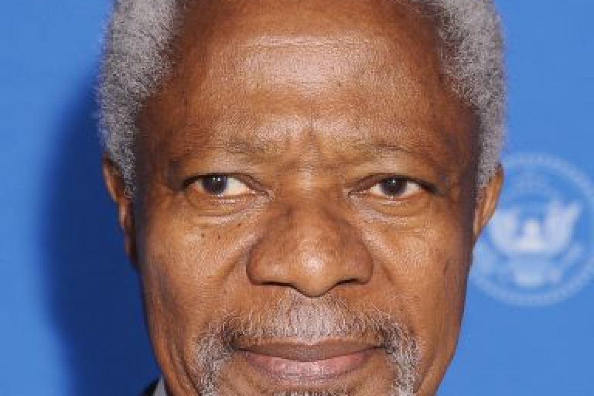 Kofi Annan: de 1997 a 2006 Foto:Getty Images. Imagen Por: