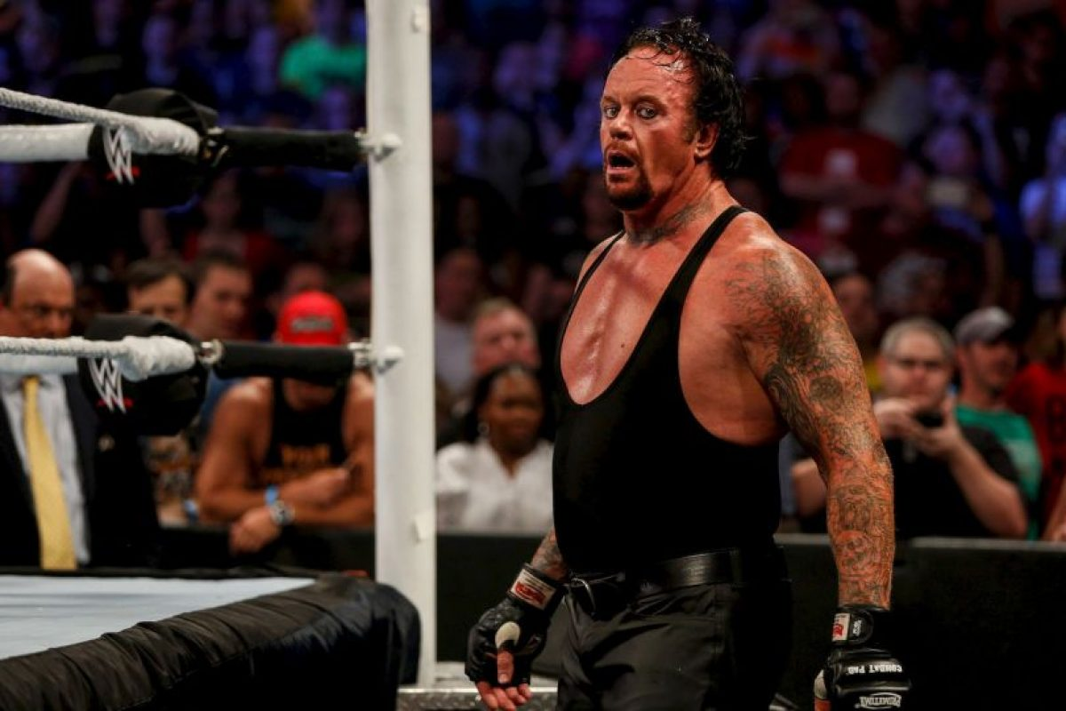 6. Undertaker (93 puntos) Foto:Getty Images. Imagen Por:
