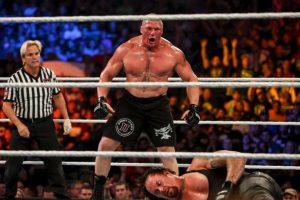 1. Brock Lesnar (95 puntos) Foto:Getty Images. Imagen Por: