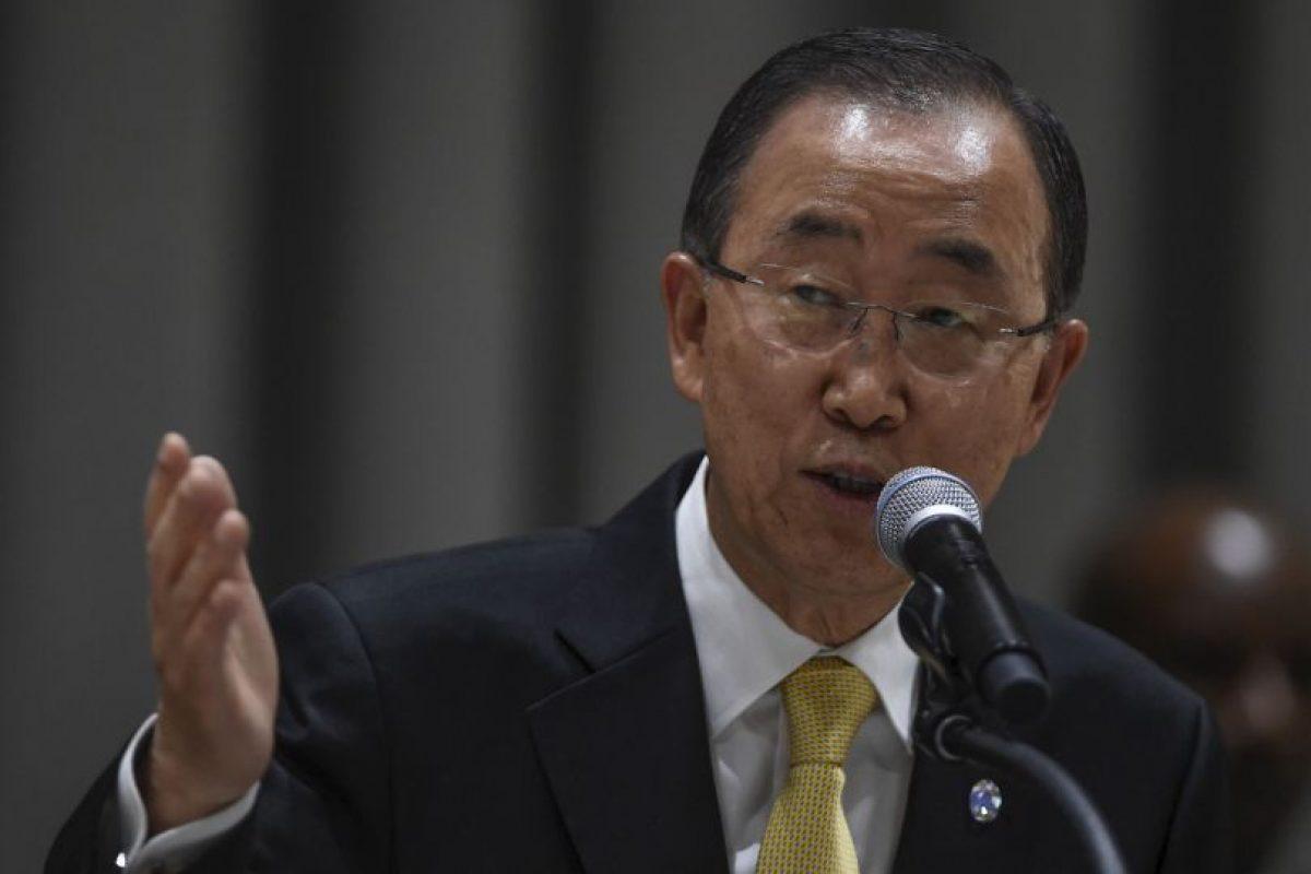 Otros secretarios generales de la ONU: Ban Ki-moon. Inició el 1 de enero de 2007 Foto:Getty Images. Imagen Por: