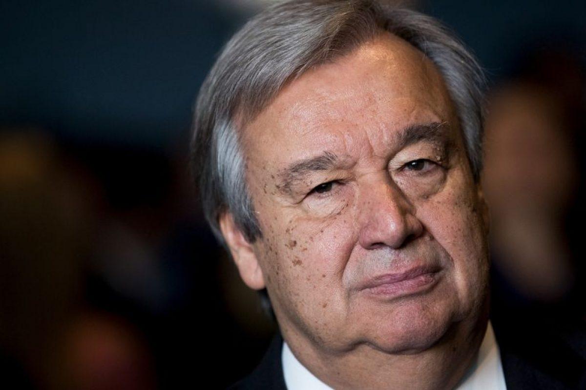 Antonio Guterres será el nuevo Secretario General de las Naciones Unidas Foto:Getty Images. Imagen Por: