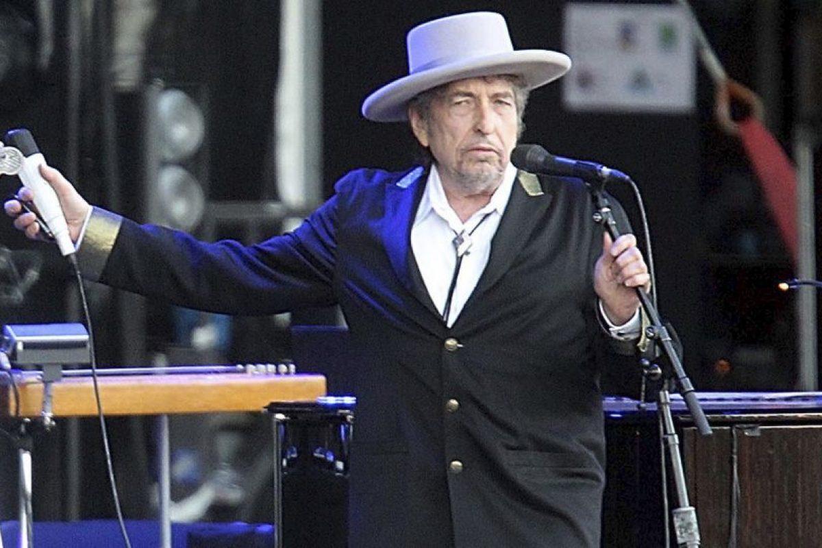 Es el primer músico en ganar el Premio Nobel de Literatura Foto:AP. Imagen Por: