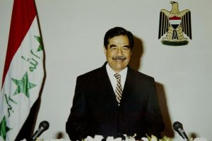 Saddam Hussein Foto:AFP. Imagen Por: