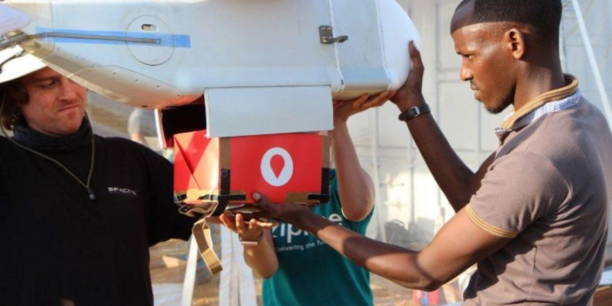 En Ruanda ocupan drones para transportar sangre y salvar cientos de vidas