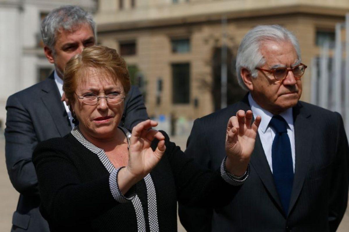 Bachelet y pol micas declaraciones de ministro fern ndez for Declaraciones del ministro del interior