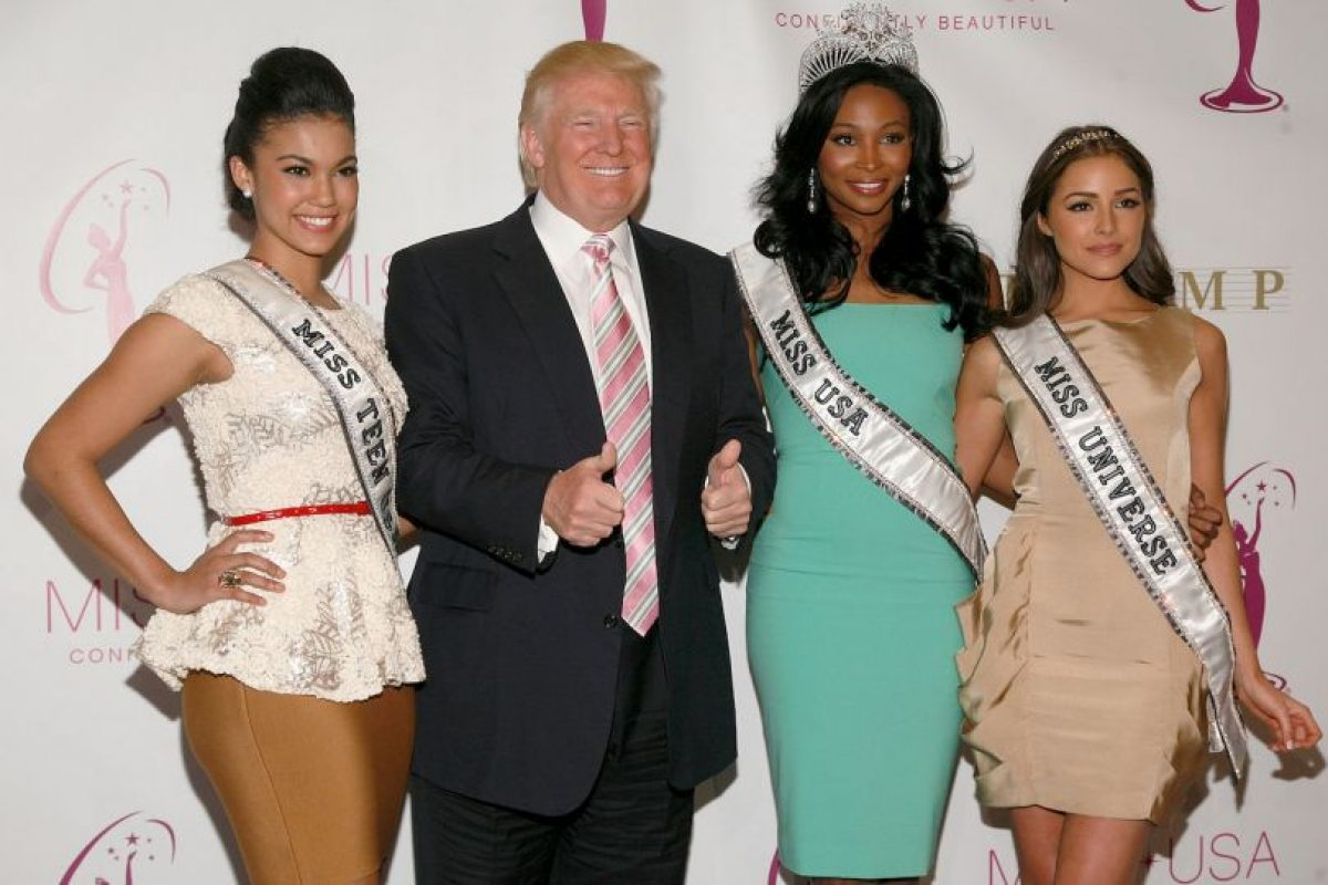 Todas contra Donald Trump Foto:Getty Images. Imagen Por: