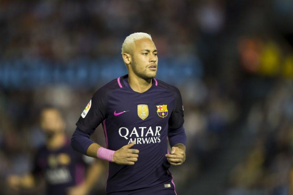 9.- Neymar (24 años-Fútbol) – 37.5 millones de dólares Foto:Getty Images. Imagen Por: