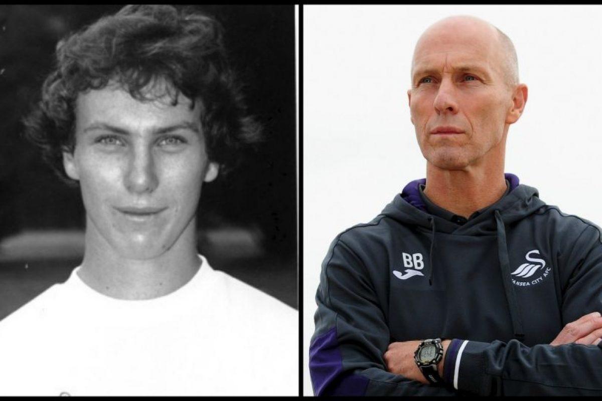 El recientemente contratado técnico del Swansea es el único que no tuvo carrera profesional y sólo jugó a nivel universitario en Estados Unidos Foto:Getty Images. Imagen Por: