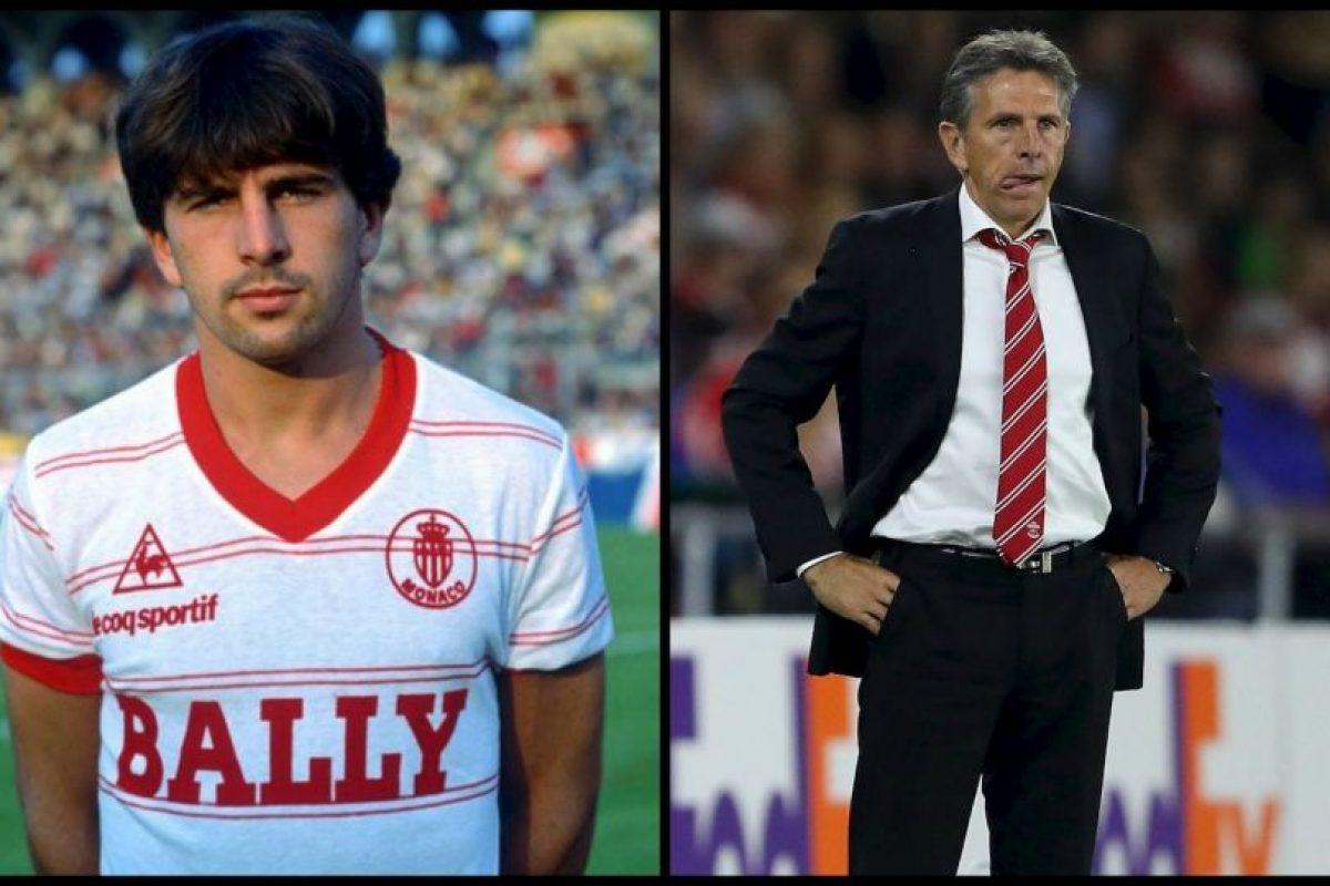 Estuvo toda su carrera como futbolista en Mónaco y llegó a jugar 601 partidos por el equipo del Principado. Ganó dos Ligas de Francia e, incluso, disputó una final de la UEFA Cup en 1992. Además, ganó tres Copa de Francia Foto:Getty Images. Imagen Por: