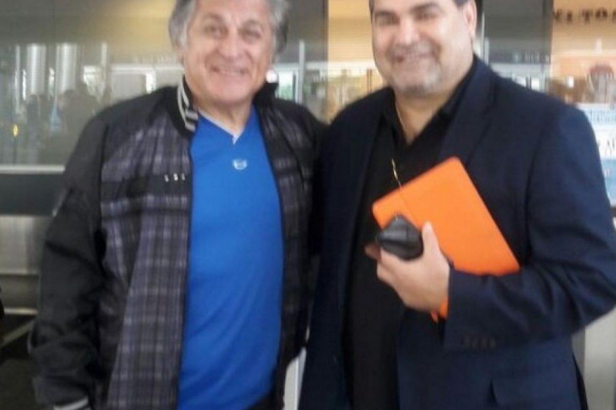 José Luis Chilavert (exportero paraguayo) Foto:Twitter. Imagen Por: