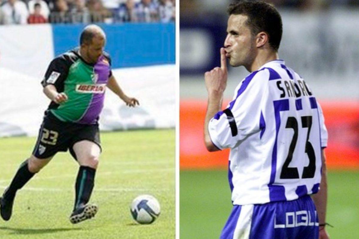 Sandro Sierra (exfutbolista español) Foto:Twitter. Imagen Por: