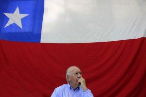 """""""Lo lógico es que el PPD y PS confluyan en una candidatura común"""", dijo el ex Mandatario. Foto:Agencia UNO. Imagen Por:"""