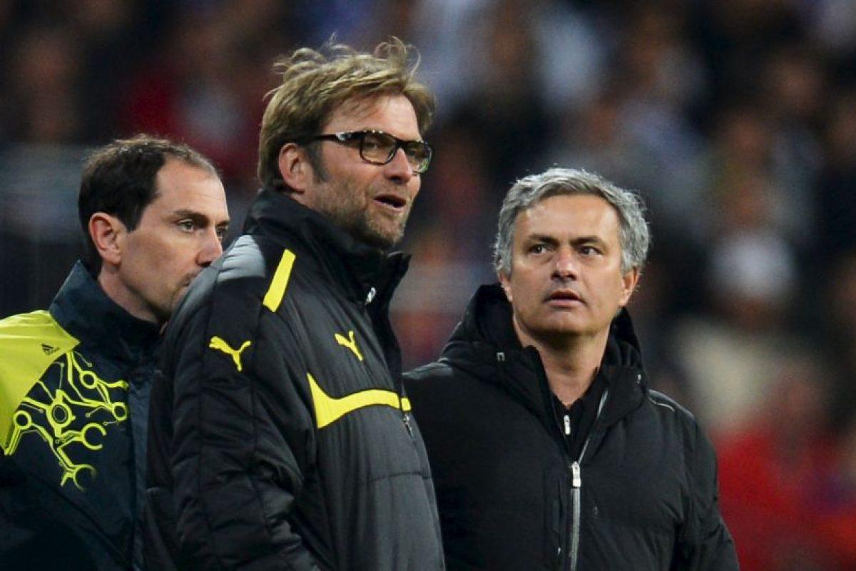 Mourinho y Klopp se han enfrentado en cinco ocasiones. Foto:Getty Images. Imagen Por:
