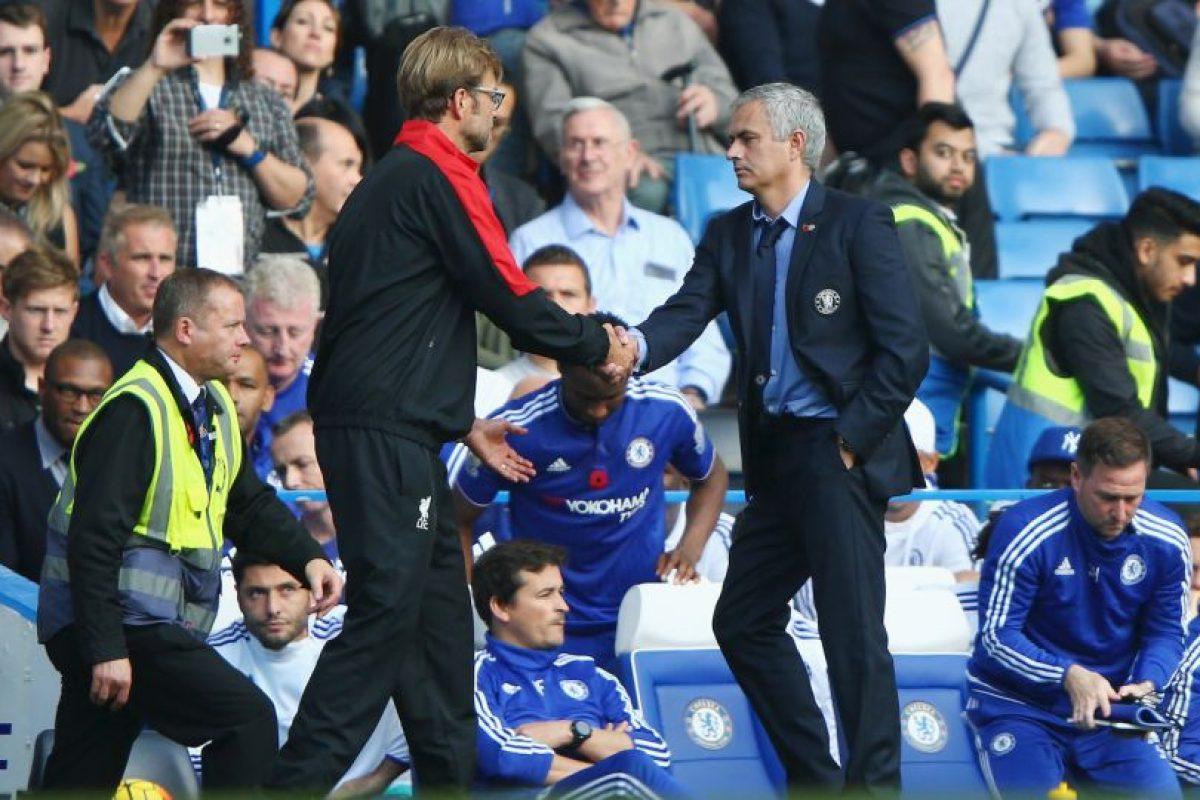 Mourinho y Jurgen Klopp se vuelven a encontrar en la Premier League. Foto:Getty Images. Imagen Por: