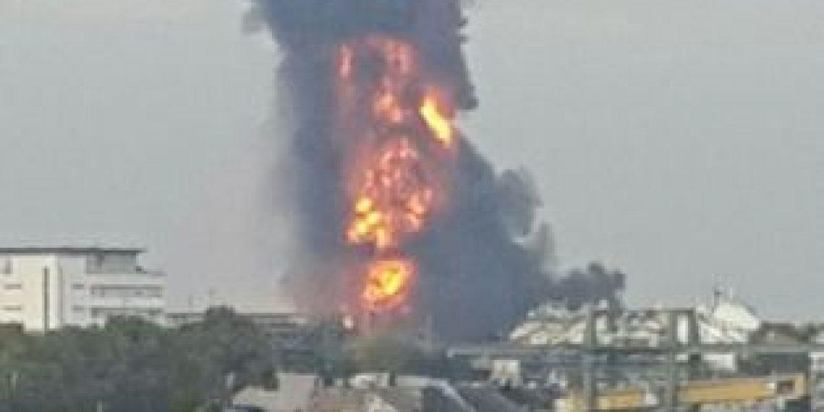 Explosión en planta química alemana deja un saldo de un muerto y seis desaparecidos