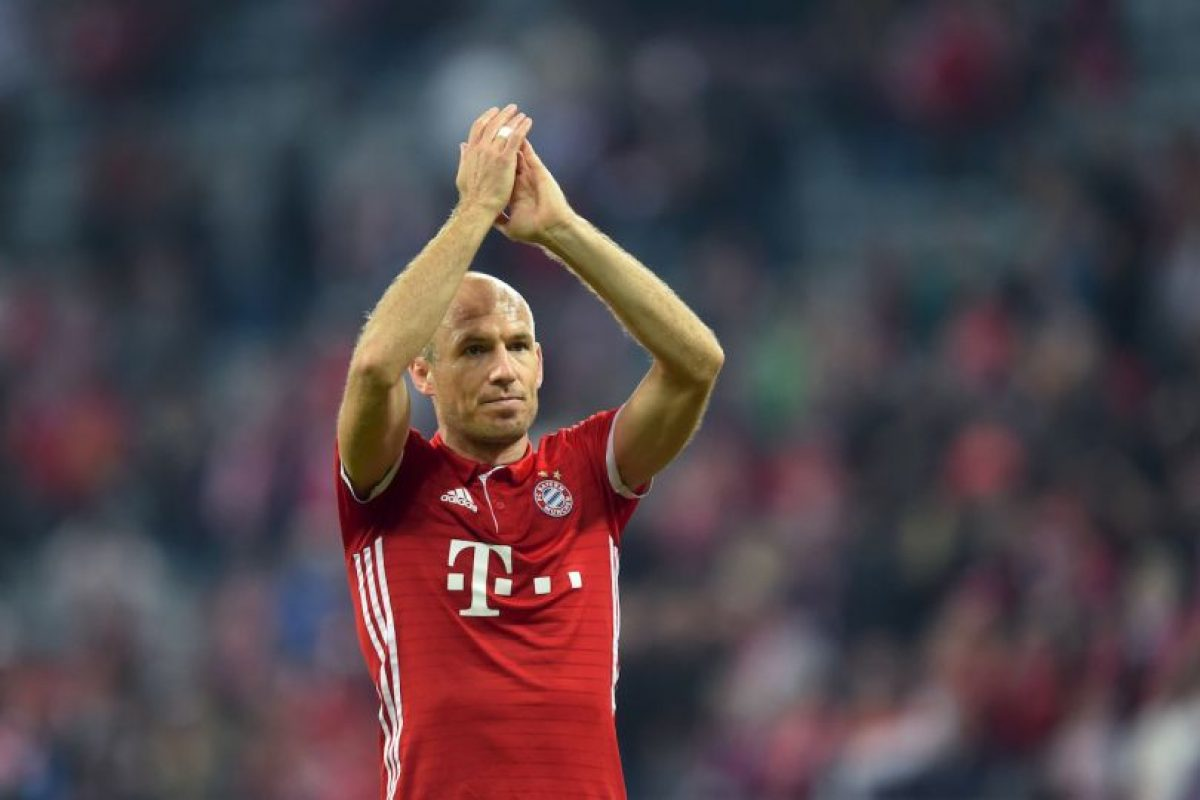 Arjen Robben (Bayern Munich) Foto:Getty Images. Imagen Por: