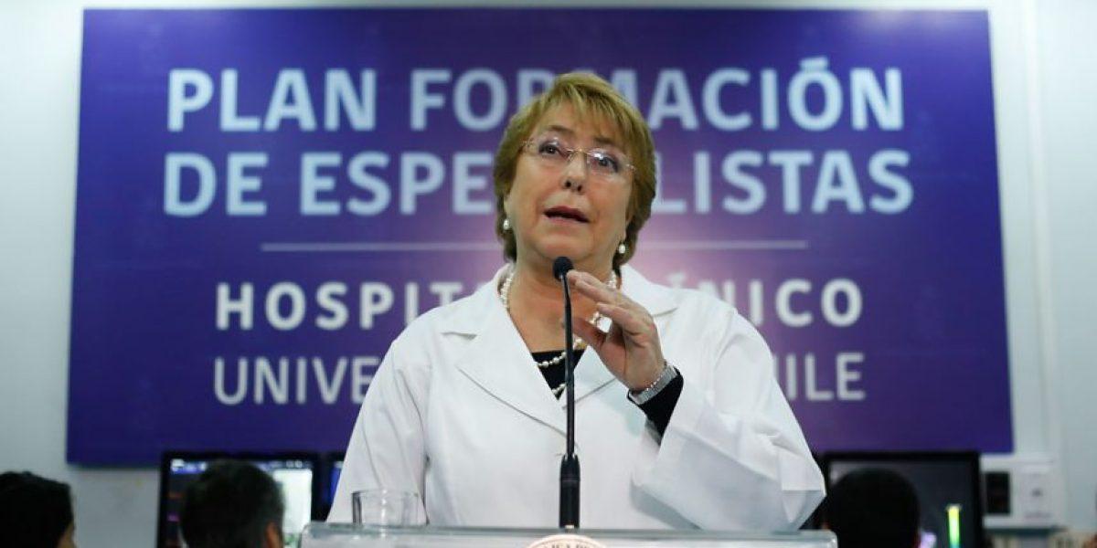 Bachelet se suma a la