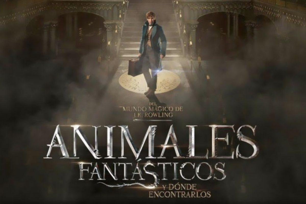"""""""Animales fantásticos y dónde encontrarlos"""" llegará a los cines de nuestro país a mediados de noviembre. Foto:Warner. Imagen Por:"""