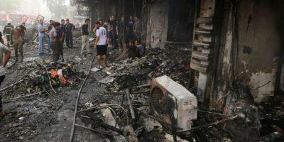 Explosión de coche bomba deja al menos 10 muertos en Irak