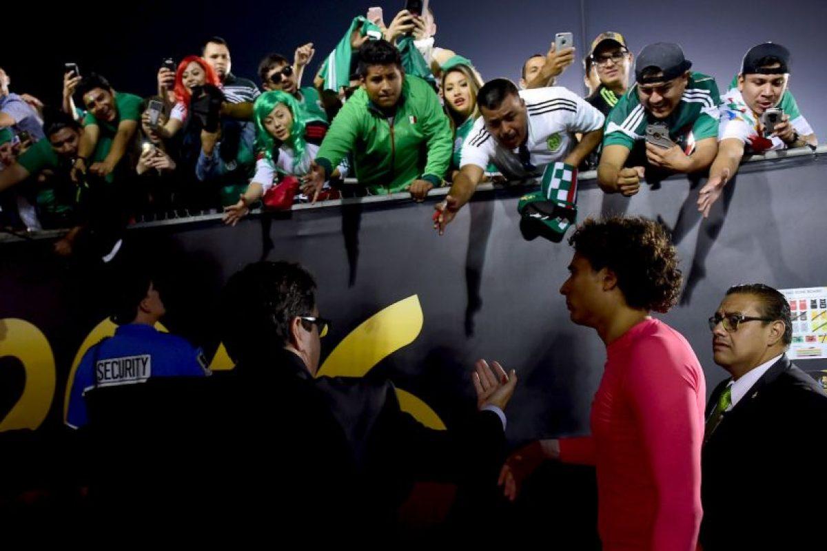 "El fin de semana se ""comió"" siete goles Foto:Getty Images. Imagen Por:"