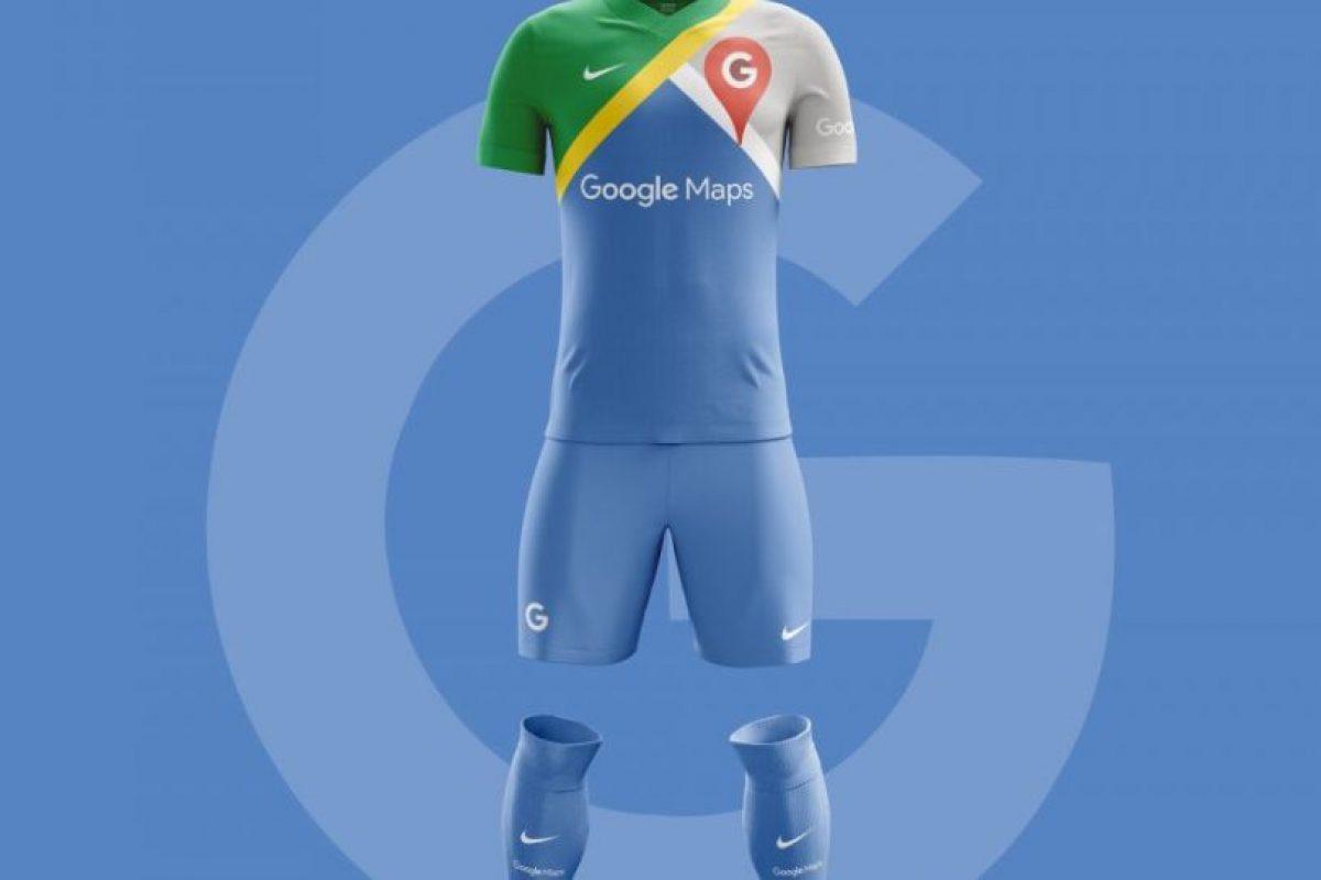 Google Football Maps. Imagen Por: