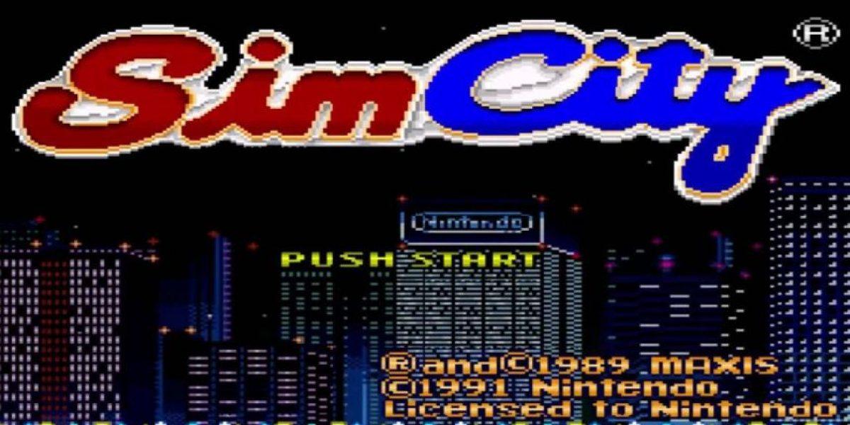 Sim City de Super Nintendo: Un retro para jugar a ser alcalde