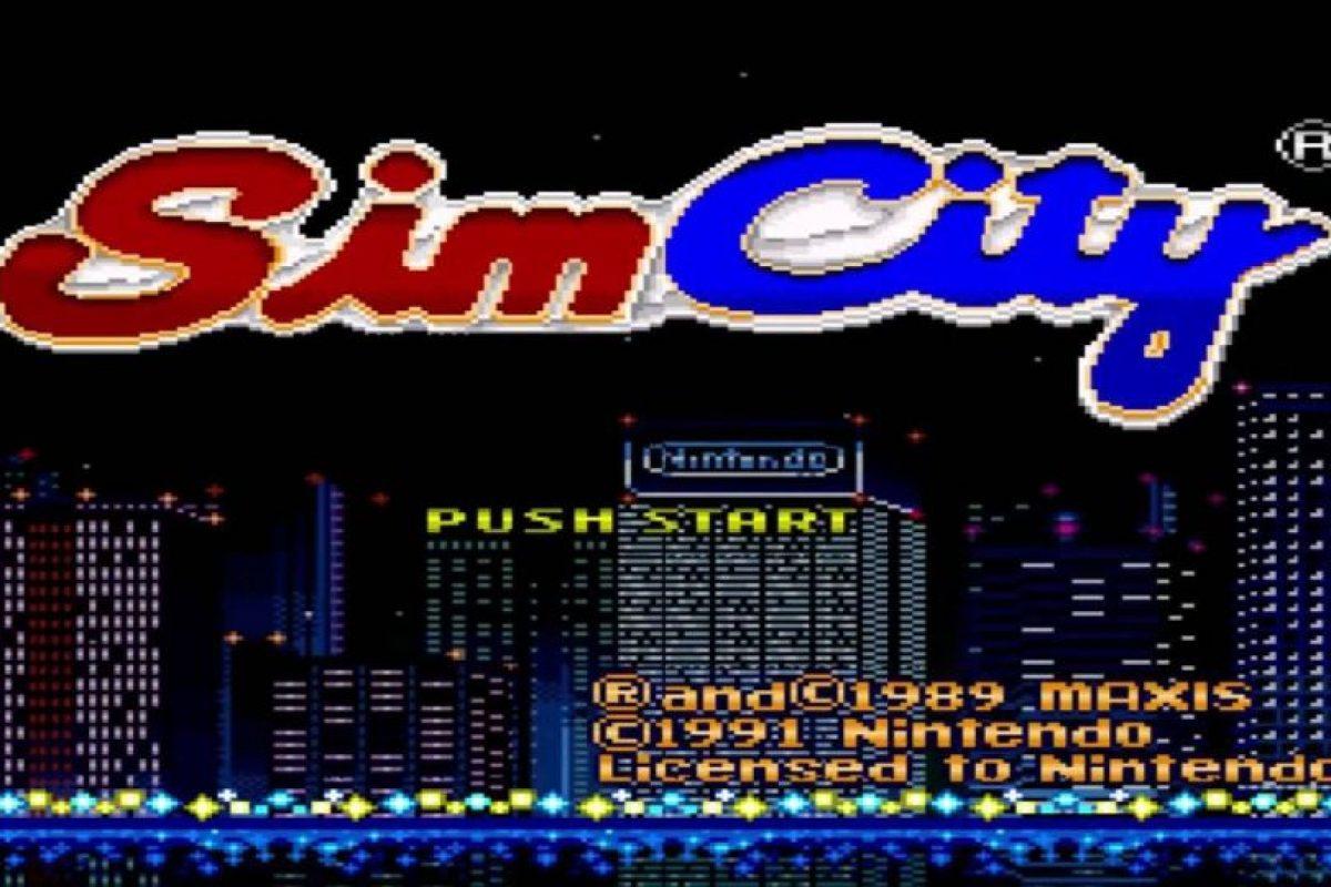 """""""Sim City"""" fue el primer éxito de ventas de Maxis, era su segundo juego. De este título derivó la saga del mismo nombre y también el conocido juego """"Los Sims"""".. Imagen Por:"""