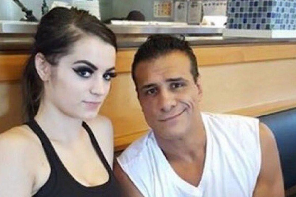 Las mejores imágenes de las redes sociales de Paige y Alberto del Río Foto:Instagram. Imagen Por: