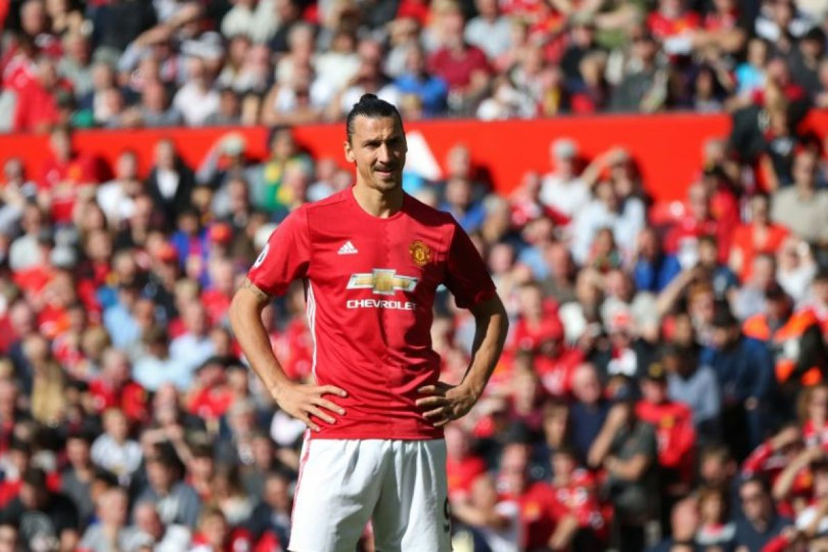 Zlatan Ibrahimovic (Manchester United) Foto: Getty Images. Imagen Por:
