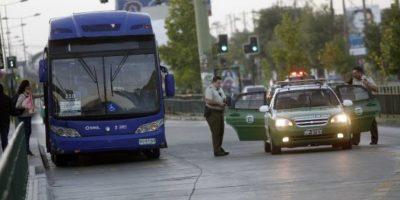 Carabineros investiga secuestro express de conductor de Transantiago en La Florida