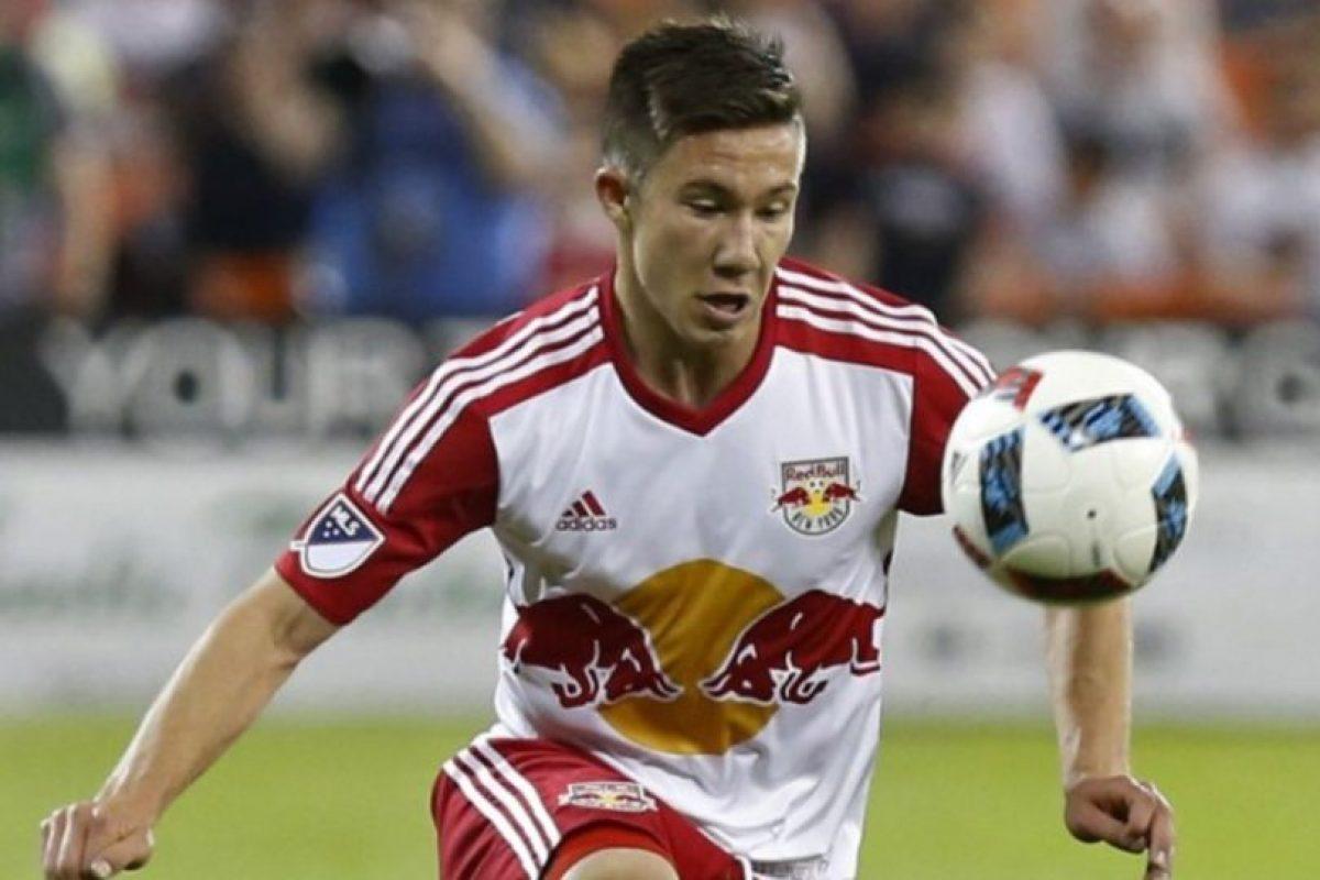 Alex Muyl (New York Red Bulls) Foto:Sitio web MLS. Imagen Por: