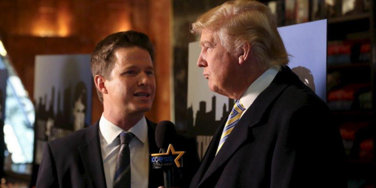 Conductor es despedido por polémica entrevista a Donald Trump