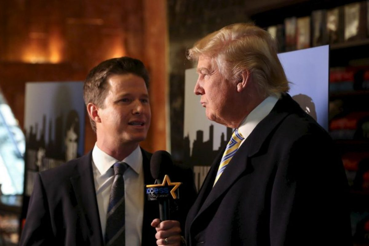 Billy Bush es despedido por su conversación con Donald Trump Foto: Getty Images. Imagen Por: