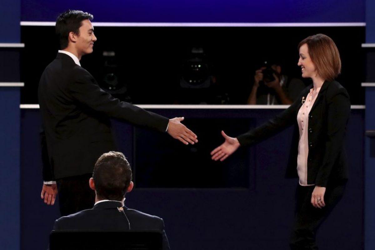 Todo listo para el tercer debate presidencial Foto:Getty Images. Imagen Por: