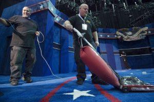 El debate comenzará a las 9 PM tiempo del Este Foto:AFP. Imagen Por:
